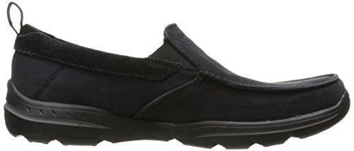 Skechers USA Men's Harper Delen Slip-On Loafer,Black Canvas,10 M US by Skechers (Image #7)
