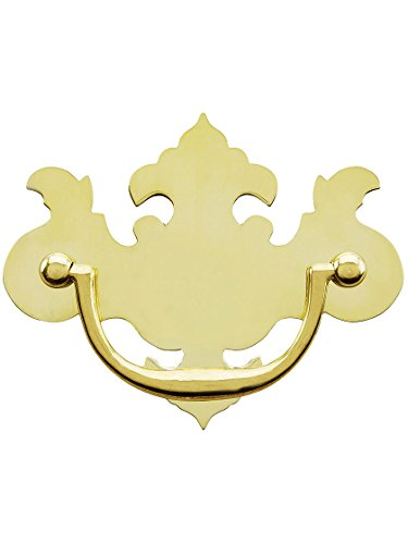 Chippendale-Style Brass Bail Pull - 3
