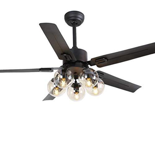 Outdoor 48 Inch Rubbed Bronze 2 Light Ceiling Fan in US - 8