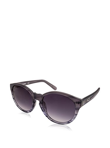 AQS Womens Daisy Oval Keyhole Sunglasses (Grey, - Aqs Sunglasses