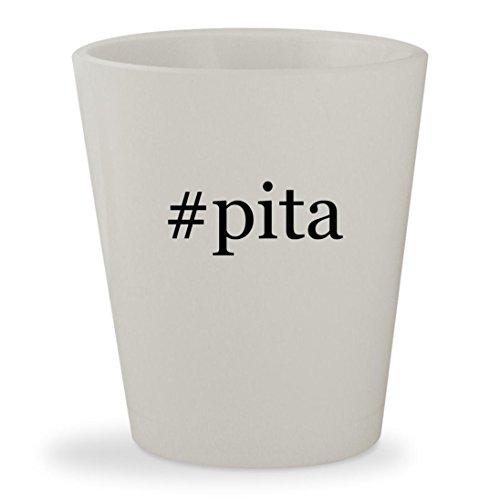 Price comparison product image #pita - White Hashtag Ceramic 1.5oz Shot Glass