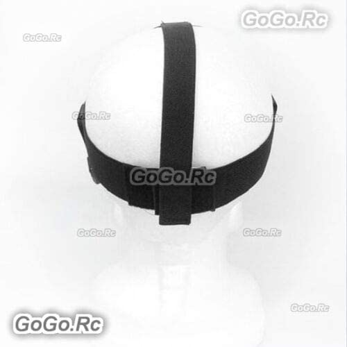 4 //SJ4000 3+ GP33 GoGoRc Lightweight Head Belt Mount Strap for GoPro Hero 2//3