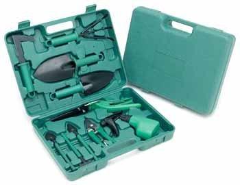 Bulk Savings 37100 Ruff Ready Deluxe 10 Piece Garden Tool Set- Pack of 6 by Ruff & Ready