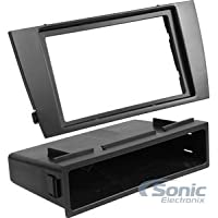 SCOSCHE JR8200B 2002-08 Jaguar X-Type  Double DIN Kit - Black