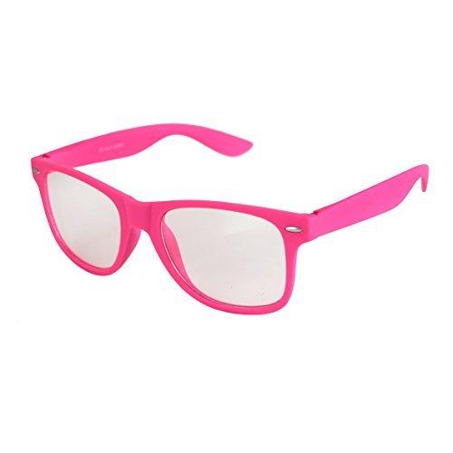 couleurs Soleil Rétro au Lunettes choix Vintage à mat Nerd 101 Transparent De Lunettes plusieurs qualité Modèles ressort Pink Unisexe Gomme Balinco Charnière haute TwXpg