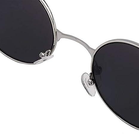 Women Quality Men Mirror Colorful Glasses UV400 Round Lens Vintage PqT4n5xfwB