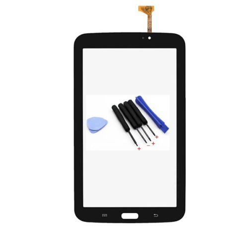 Black Touch Screen Digitizer Glass Replacement for Samsung Galaxy Tab 3 7.0 T210 (Touch Screen For Tab 3)