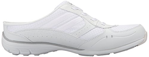 Light Real Trim Women's Deal Mule Gray Leather Mesh Skechers Conversations White Sport qtWnRzxa