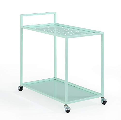 Now House by Jonathan Adler Vally Bar Cart, Mint
