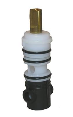 Lasco S-735-4T Import Diverter Stem ,0489,Delex Pattern Broach, For 3 Handle Tub And Shower Valve, Fits Many Import Valves