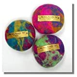 "Ewesful Pincushion Large 5"" Round Multi Color"