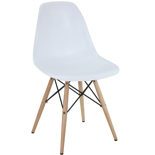 Modway Pyramid Chair Natural White Noticeable
