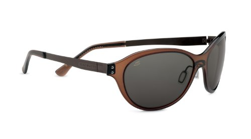 Serengeti Cosmopolitan Giustina Sunglasses, Polar PhD CPG, Crystal Dark Brown
