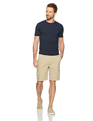 Amazon Essentials Men's Classic-Fit Cargo Short, Khaki, 36