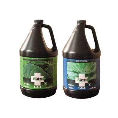Nutri+ Grow A + B Nutrient 4 Liter : Fertilizers : Garden & Outdoor