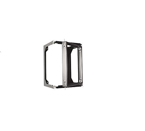 Chatsworth - 11791-725 - Chatsworth 11791-725 Standard Swing Gate Wall Rack Frame - 19 21U Wide - Black - 100 lb x Maximum Weight Capacity