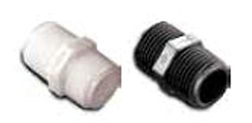 Parker Hannifin 316P-8-2PP Par-Barb Polypropylene Hex Nipple Fitting Black 1//2 Male NPT x 1//8 Male NPT Parker Hannifin Corporation 1//2 Male NPT x 1//8 Male NPT