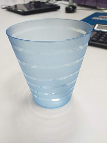 IndiaBigShop Disposable Party Plastic Glasses, Plastic Wine Cups, Plastic Cocktail Glasses, Plastic Drinking Cups (8.4…