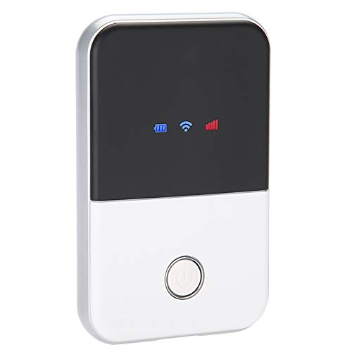 fosa MF925 4G LTE Wireless Router Unlocked Travel Partner WiFi Box Data Terminal Box WiFi Wireless Router SIM Card USB Charging Easy to Carry in Hand Outdoor (Best Sim Only Packages)