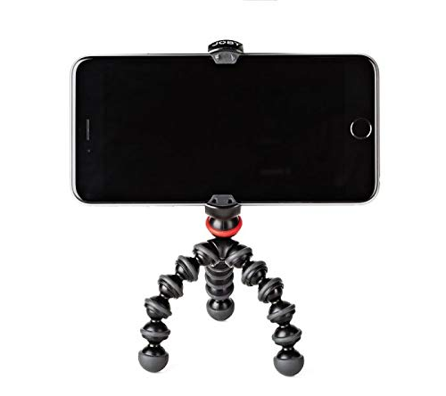 JOBY GorillaPod Mobile Mini: A Portable Mini GorillaPod Tripod That Fits Most iPhones, Androids and Windows Phones Including iPhone 8 & 8 Plus, Google Pixel and Lumia 950 XL