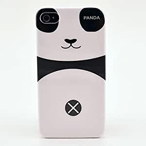 CECT STOCK Panda del muchacho del patrón del estuche rígido para el iPhone 4/4S