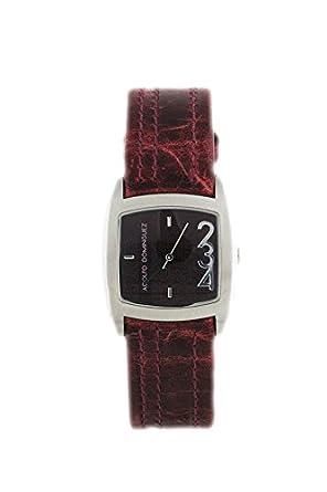 Uhr Adolfo Dominguez Frau 39003 Leder bordeaux