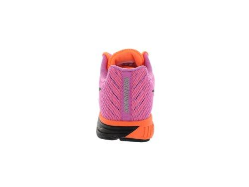 Nike Womens Zoom Fly Scarpa Da Corsa Atomic Orange / Black / Red Violet (10)