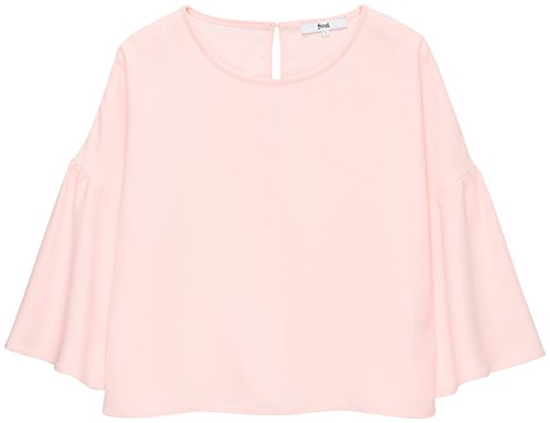Blush Femme Rose nbsp;Capuche Manches Shirt FIND Sweat vases B0wRRFq
