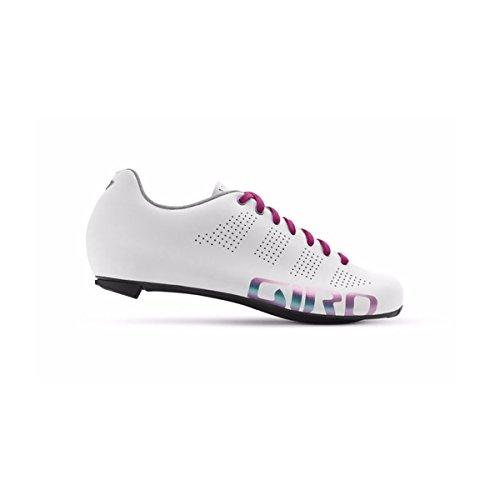 Zapatillas De Ciclismo Para Mujer Giro Empire W Acc Blanco Reflectivo
