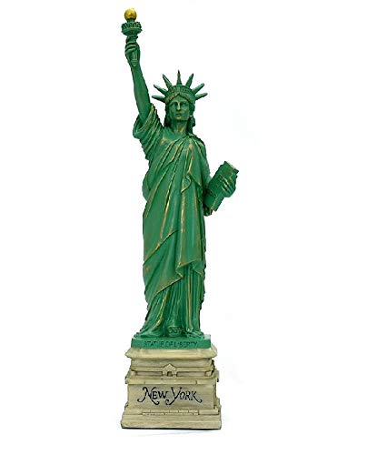 MONKEY KING MK Statue of Liberty Statue Sculpture from New York City Liberty Island Collection Souvenirs (8.25 Inches Tall) (New York New York Statue Of Liberty)