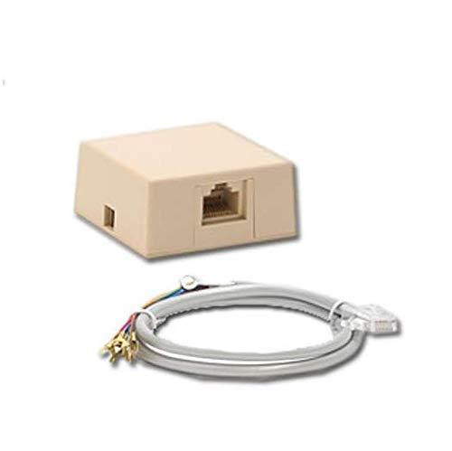 Surprising Amazon Com 1 Rj31X Phone Jack Cord Ademco Vista Ge Concord Alarm Wiring Digital Resources Warobapapkbiperorg