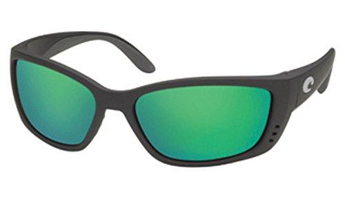 Price comparison product image Costa Del Mar Sunglasses - Fisch- Glass / Frame: Black Lens: Polarized Green Mirror Wave 580 Glass
