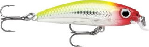 Rapala Ultra Light Minnow 04 Fishing lure, 1.5-Inch, Clown