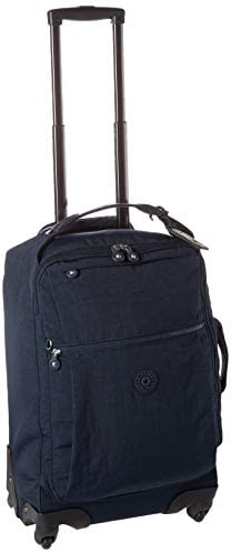 Kipling Darcey Softside Spinner Wheel Luggage, BLUE BLEU 2, Carry-On 22-Inch