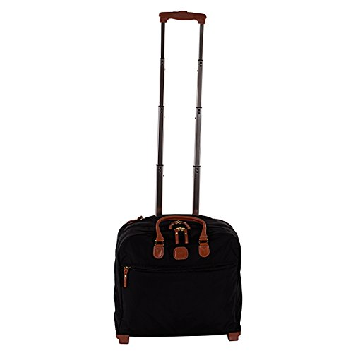 Bric's Luggage BXL38124 X Travel Ultra-Light Pilot Case Carry On, Black, One Size by Bric's
