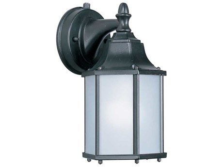- Maxim 56926EB, Side Door LED Outdoor Wall Mount, 1 Light, 9 Watts, Empire Bronze