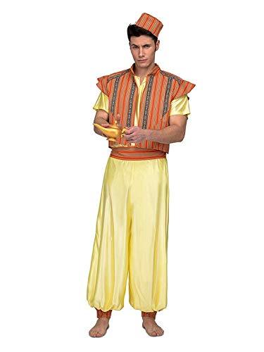 DISBACANAL Disfraz Aladín para Hombre - -, M-L: Amazon.es ...