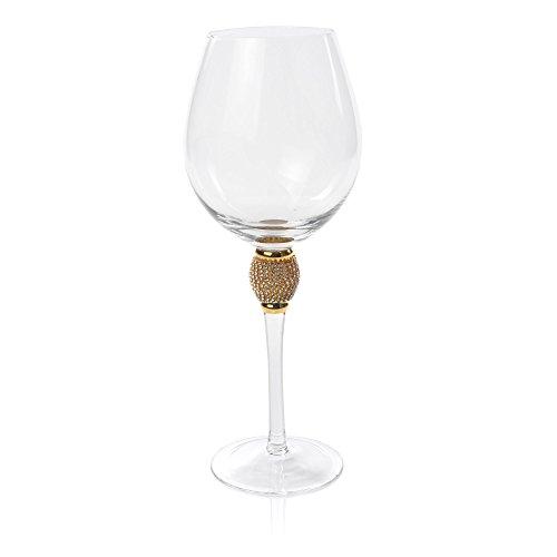 Gold Biarritz Goblet by IMPULSE!||Wine glasses|Red Wine glasses|White Wine glasses