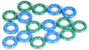 ACDelco 217-2444 GM Original Equipment Fuel Injector O-Ring Kit with 16 O-Rings
