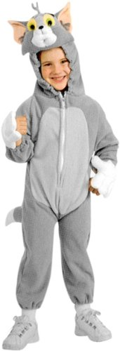 Rubies Deluxe Child Tom & Jerry Halloween Cat Costume - Small | 11611