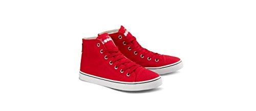 Diadora Shoes Running Sneaker Jogging Women Clipper c high w Red Ribbon 38 Rosso Size 7
