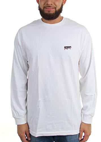 Camiseta para All 10 manga de The larga hombre Lights Deep White 5AqXO c73ed225b2c