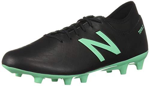 (New Balance Men's Tekela V1 Soccer Shoe Black/neon Emerald-1 11.5 D US)