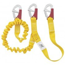 Nautos 57305 -ISAF DOUBLE TETHER- < 2 METERS (6.5 FEET) + 1 METER (3.3 FEET) WITH 3 DOUBLE ACTION SAFETY HOOKS- PLASTIMO