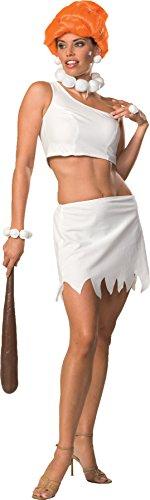 Secret Wishes Women's The Flintstones Sassy Adult Wilma Flintstone Costume, Multicolor, Small