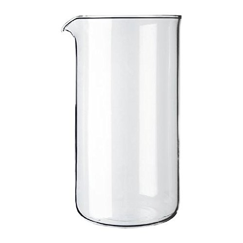 Bodum Replacement Beaker French Press, Replacement 12 Oz Cle
