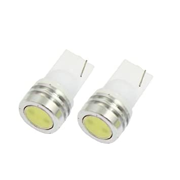 Amazon.com: eDealMax T10 2821 lámpara LED Blanca coches Auto Insturment luz Junta 12V 1W 2 piezas: Automotive