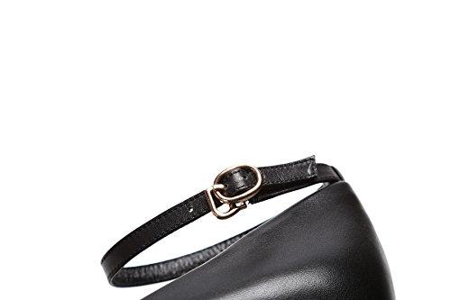 Stiletto Spitzschuh Classic Arbeiten Smart Schuhe Heels High Damen Lady Leder Braut Pumps Business w5xgqw8vd