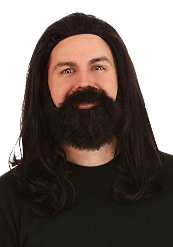 Silent Bob Costume (Fun Costumes Silent Bob Synthetic Wig and Beard Costume Kit)