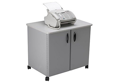 Mayline Mobile Utility Cabinet - Mobile Steel Utility Cabinet Dove Gray/Gray Top Dimensions: 30